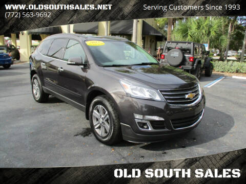 2017 Chevrolet Traverse for sale at OLD SOUTH SALES in Vero Beach FL