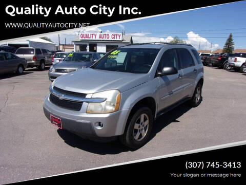 2005 Chevrolet Equinox for sale at Quality Auto City Inc. in Laramie WY