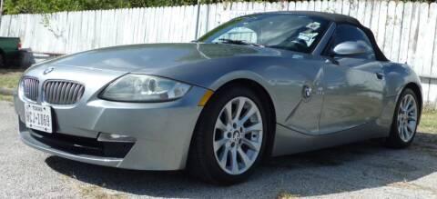 2006 BMW Z4 for sale at RICKY'S AUTOPLEX in San Antonio TX