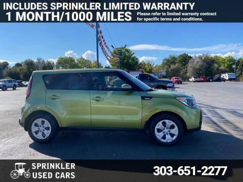 2014 Kia Soul for sale at Sprinkler Used Cars in Longmont CO