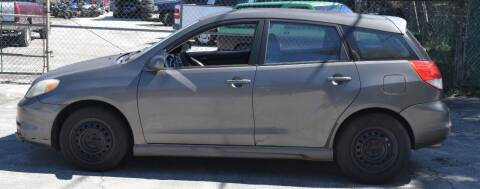 2004 Toyota Matrix for sale at GARAGE ZERO in Jacksonville FL