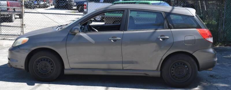 2004 Toyota Matrix for sale at GARAGE ZERO in Jacksonville FL