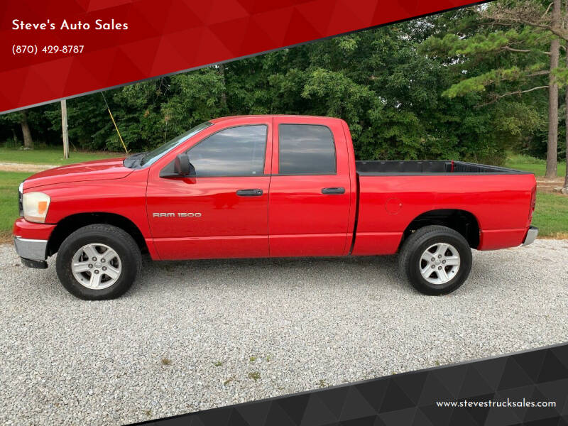 2006 Dodge Ram Pickup 1500 for sale at Steve's Auto Sales in Harrison AR