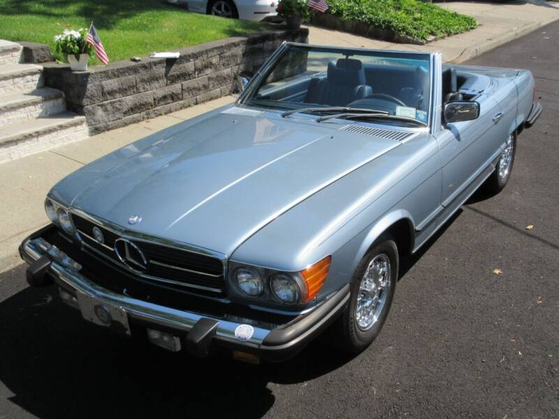 1977 Mercedes-Benz 450 SL for sale at Island Classics & Customs in Staten Island NY