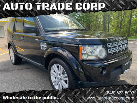 2012 Land Rover LR4 for sale at AUTO TRADE CORP in Nanuet NY
