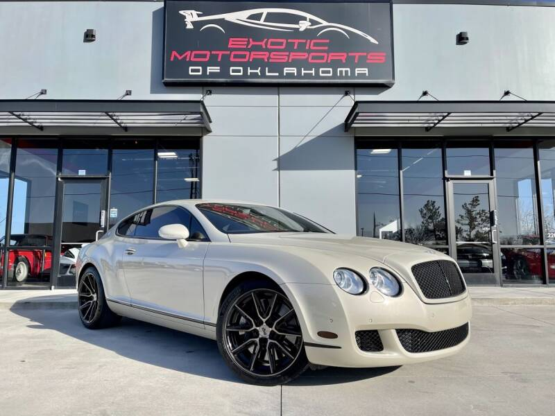 2008 Bentley Continental for sale at Exotic Motorsports of Oklahoma in Edmond OK