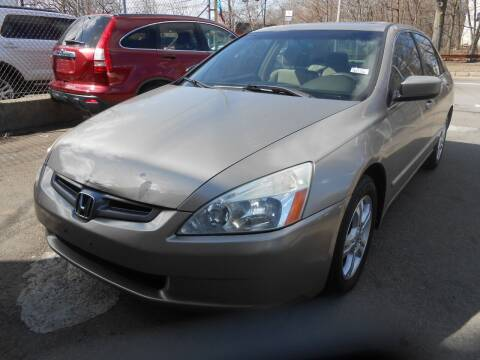 2003 Honda Accord for sale at N H AUTO WHOLESALERS in Roslindale MA