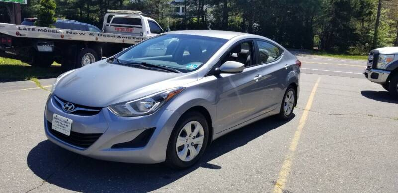 2016 Hyundai Elantra for sale at Central Jersey Auto Trading in Jackson NJ