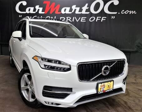 2017 Volvo XC90 for sale at CarMart OC in Costa Mesa, Orange County CA