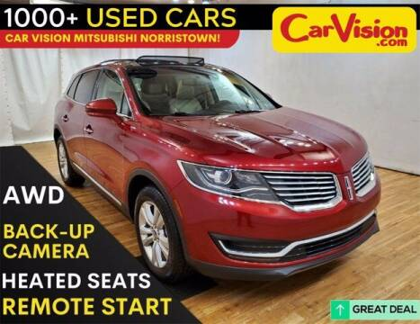 2017 Lincoln MKX for sale at Car Vision Buying Center in Norristown PA
