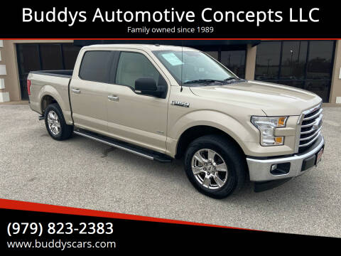 2017 Ford F-150 for sale at Buddys Automotive Concepts LLC in Bryan TX