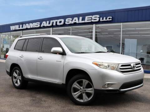 2012 Toyota Highlander for sale at Williams Auto Sales, LLC in Cookeville TN