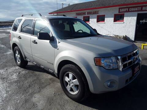 2008 Ford Escape for sale at Sarpy County Motors in Springfield NE