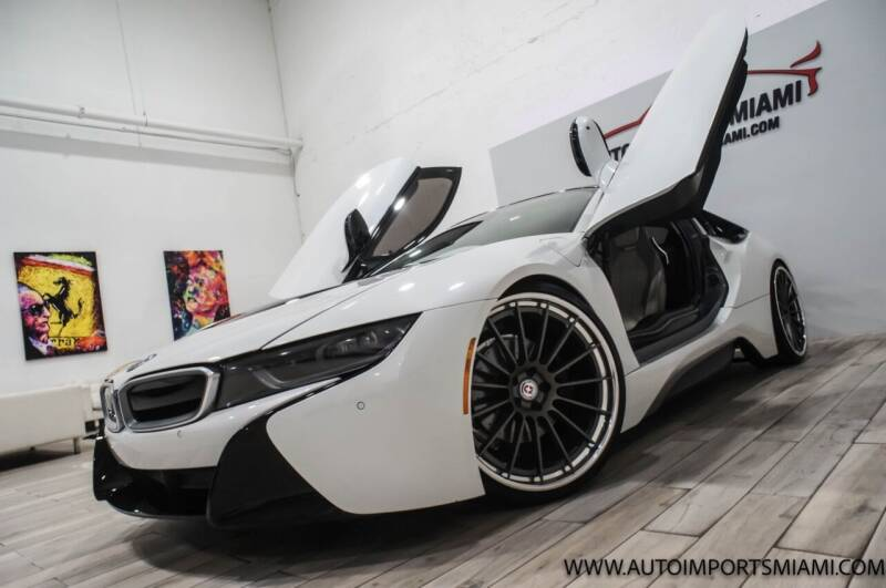 2017 BMW i8 for sale at AUTO IMPORTS MIAMI in Fort Lauderdale FL
