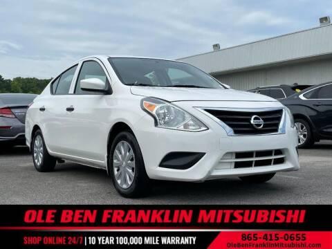 2017 Nissan Versa for sale at Ole Ben Franklin Mitsbishi in Oak Ridge TN