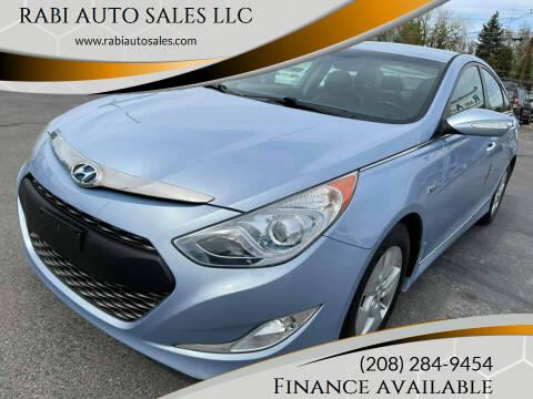 2012 Hyundai Sonata Hybrid for sale at RABI AUTO SALES LLC in Garden City ID