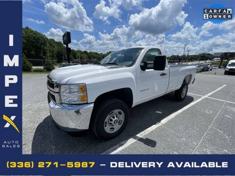 2013 Chevrolet Silverado 2500HD for sale at Impex Auto Sales in Greensboro NC