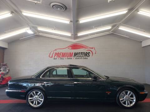 2004 Jaguar XJR for sale at Premium Motors in Villa Park IL