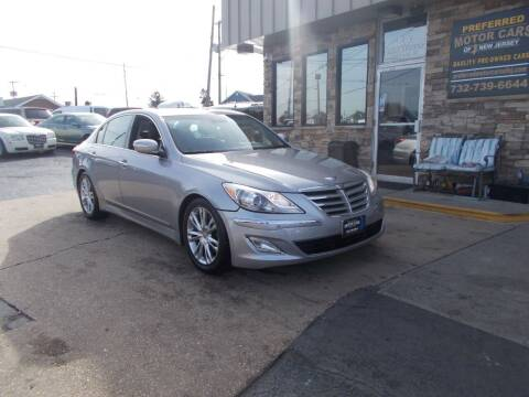 2012 Hyundai Genesis for sale at Preferred Motor Cars of New Jersey in Keyport NJ