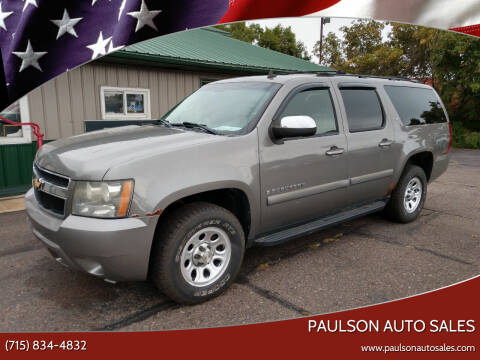 2007 Chevrolet Suburban for sale at Paulson Auto Sales in Chippewa Falls WI