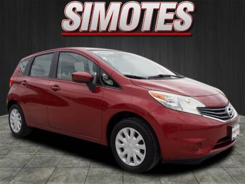 2015 Nissan Versa Note for sale at SIMOTES MOTORS in Minooka IL
