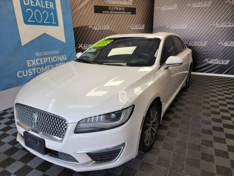 2017 Lincoln MKZ for sale at X Drive Auto Sales Inc. in Dearborn Heights MI