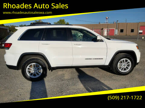 2020 Jeep Grand Cherokee for sale at Rhoades Auto Sales in Spokane Valley WA