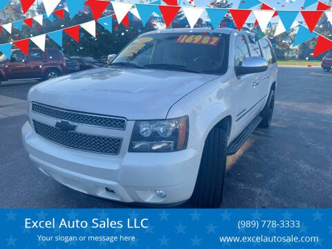 2011 Chevrolet Suburban for sale at Excel Auto Sales LLC in Kawkawlin MI