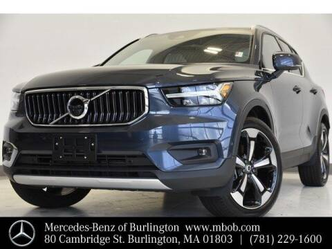 2019 Volvo XC40 for sale at Mercedes Benz of Burlington in Burlington MA