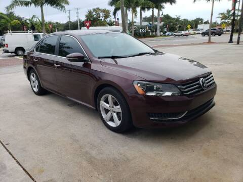2012 Volkswagen Passat for sale at Bonita Auto Center in Bonita Springs FL