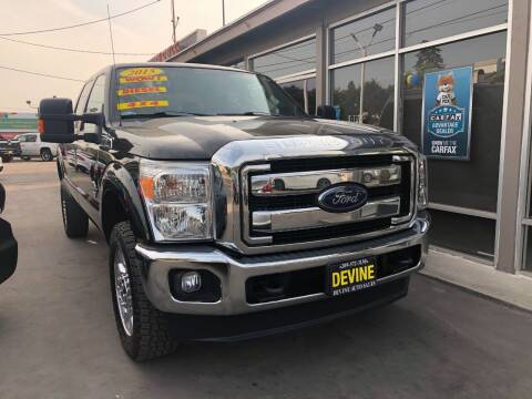 2015 Ford F-350 Super Duty for sale at Devine Auto Sales in Modesto CA