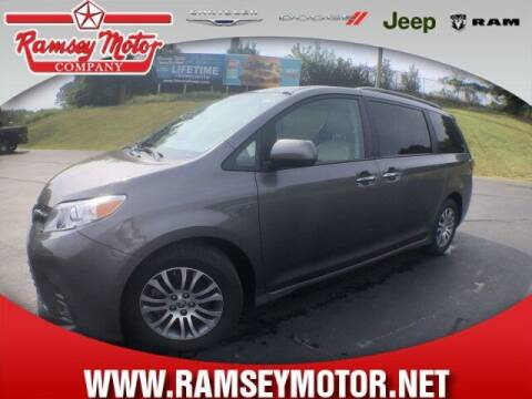 2020 Toyota Sienna for sale at RAMSEY MOTOR CO in Harrison AR