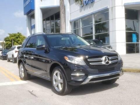 2018 Mercedes-Benz GLE for sale at DORAL HYUNDAI in Doral FL