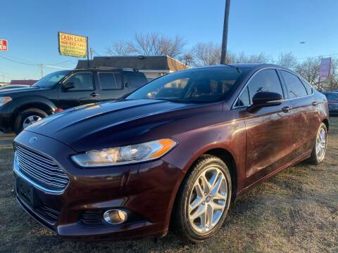 2013 Ford Fusion for sale at Texas Select Autos LLC in Mckinney TX