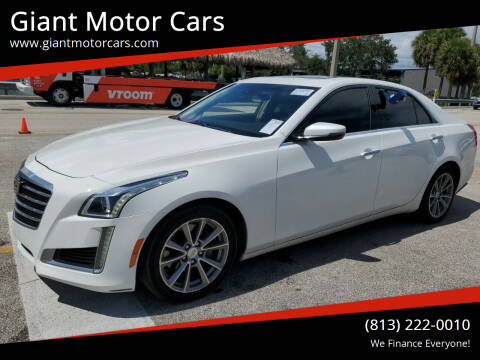 2017 Cadillac CTS for sale at Giant Motor Cars in Tampa FL