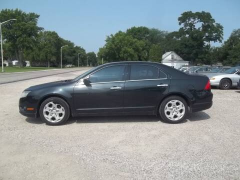 2010 Ford Fusion for sale at BRETT SPAULDING SALES in Onawa IA