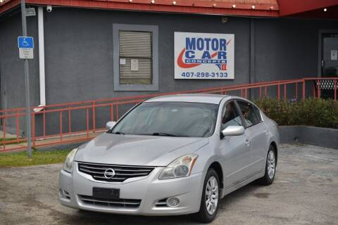 2012 Nissan Altima for sale at Motor Car Concepts II - Kirkman Location in Orlando FL