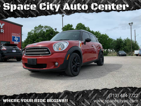 2015 MINI Countryman for sale at Space City Auto Center in Houston TX