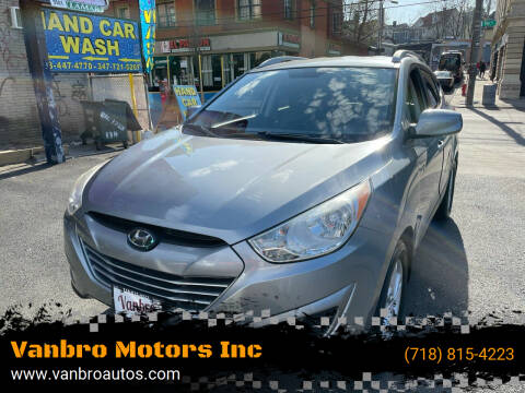 2010 Hyundai Tucson for sale at Vanbro Motors Inc in Staten Island NY