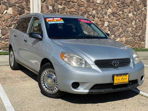 2007 Toyota Matrix for sale at Car Deal Auto Sales in Sacramento CA