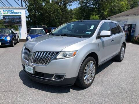 2011 Lincoln MKX for sale at Sports & Imports in Pasadena MD