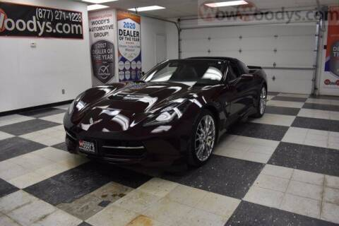 2017 Chevrolet Corvette for sale at WOODY'S AUTOMOTIVE GROUP in Chillicothe MO