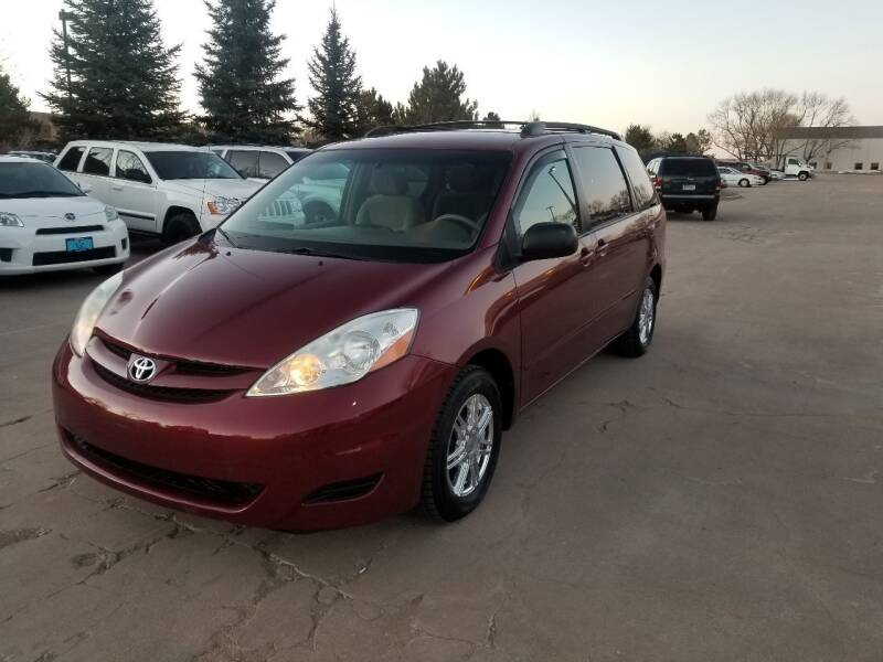 2006 Toyota Sienna for sale at Red Rock's Autos in Denver CO