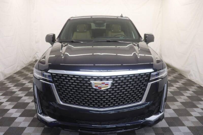 2021 Cadillac Escalade ESV for sale at AH Ride & Pride Auto Group in Akron OH