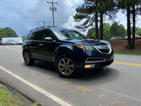 2011 Acura MDX for sale at THE AUTO FINDERS in Durham NC
