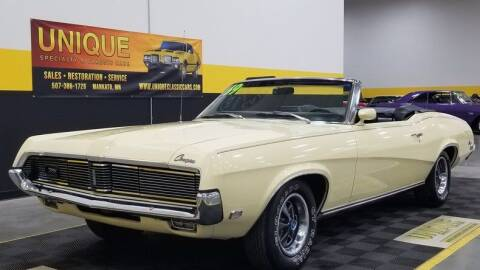 1969 Mercury Cougar for sale at UNIQUE SPECIALTY & CLASSICS in Mankato MN