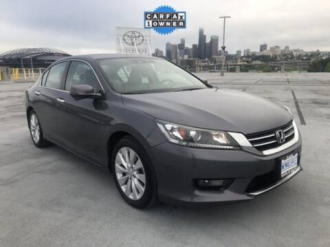 2015 Honda Accord for sale at Toyota of Seattle in Seattle WA
