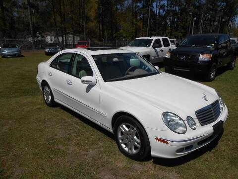 2005 Mercedes-Benz E-Class for sale at Jeff's Auto Wholesale in Summerville SC