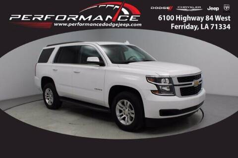2018 Chevrolet Tahoe for sale at Performance Dodge Chrysler Jeep in Ferriday LA