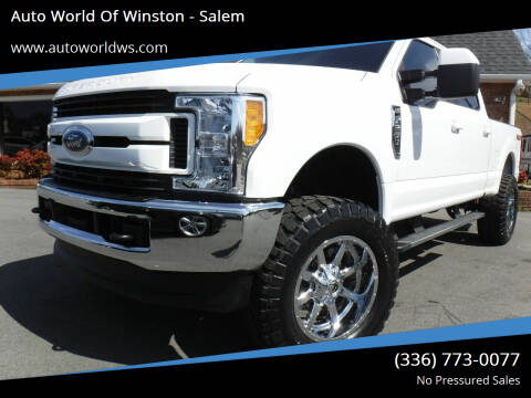 2017 Ford F-250 Super Duty for sale at Auto World Of Winston - Salem in Winston Salem NC